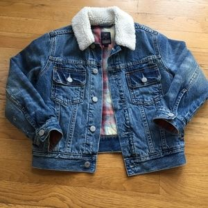 Gap Kids Pendleton Quilted Jean Jacket
